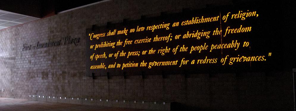 First Amendment | Media Litigation - Finger & Slanina, LLC